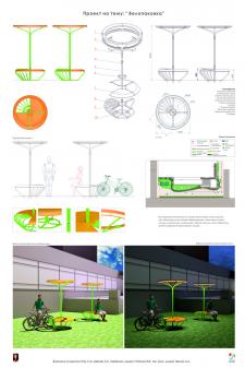 Велопарковкаи для городской среды