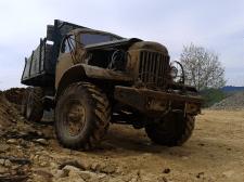 Суровый грузовик
