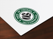 Логотип Taste of Vietnam (Tea & Coffee shop)