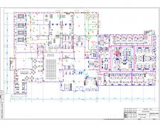 План 1-го этажа СКД Бизнес-центра