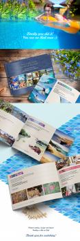 Дизайн и верстка каталога, аренда виллы на о. Бали