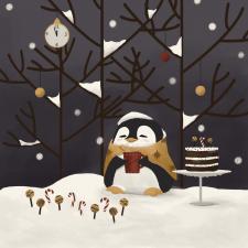 Cute pingui