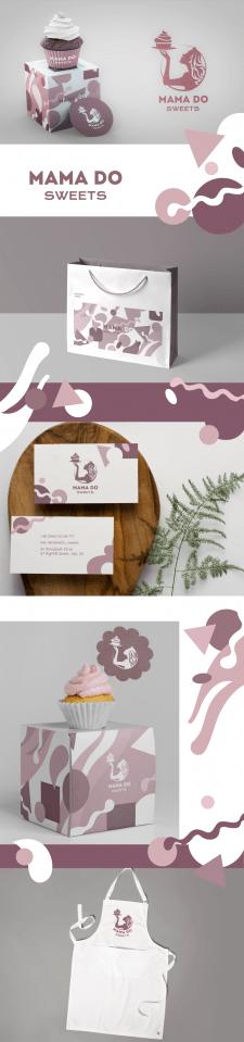 Дизайн лого и айдентики для кондитерской