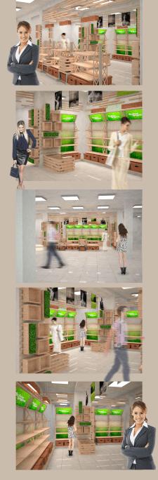 Оформление и визуализация магазина натуральной косметики