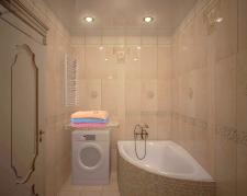 ванная в калассическом стиле