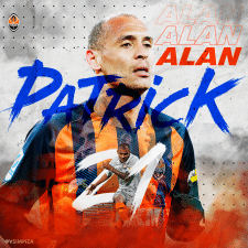 Digital art for Alan Patrick from FC Shakhtar