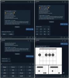 Telegram Guitar/Ukulele Bot