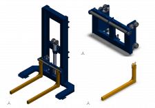 Конструирование подъемника гидравлического