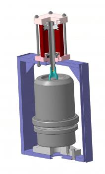 3D модель приспособления
