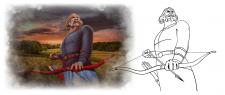 Иллюстрация богатыря