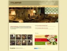 Сайт лаунж-бара Pyjama