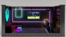 Дизайн интерьера домашнего бара