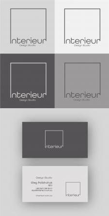 Логотип для студии дизайна интерьера