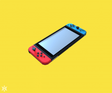 Nintendo Switch - voxel