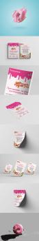 #Дизайн листовки#пончиков#Donuts park#
