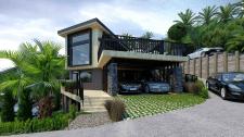 Проект современного дома в Новой Зеландии