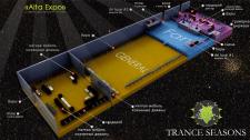 Trance Seasons fest - Презентация помещения междун