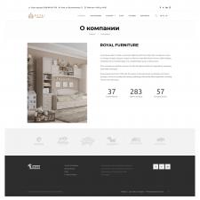 Сайт-каталог для мебельного магазина на WordPress