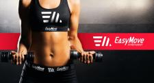 Разработка логотипа спортивного белья Easy Move