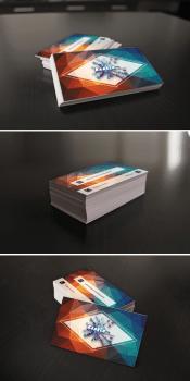 """дизайн визиток для """"Клякса"""""""