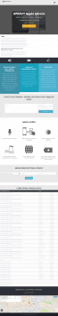 Разработка лендинга на тему ремонта Iphone