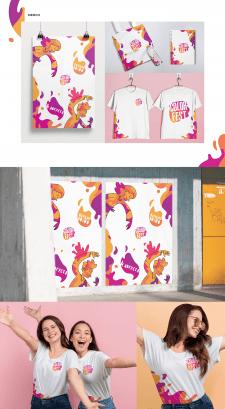 Постеры и мерч для ColorFest Odessa 2018
