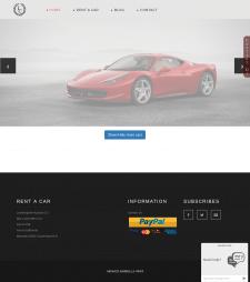 Реклама сайта VIP автомобилей по ЕС