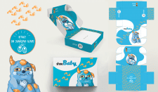 дизайн коробки для детской обуви
