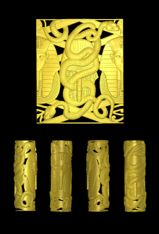 сигарный тубус Фараон