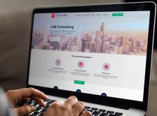 Верстка сайта для консалтинговой компании