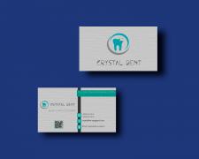Дизайн визитки для стоматологической клиники