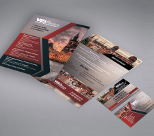 Дизайн флаера и визитки