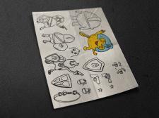 Наброски персонажа игры