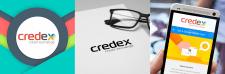 Логотип Кредекс_стиль flat