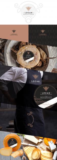 лого органическое производство сыра и масла
