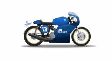 Кастом на базе ИЖ Планета (circuit racer)