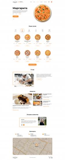 """""""Sorrento"""" Редизайн сайта"""