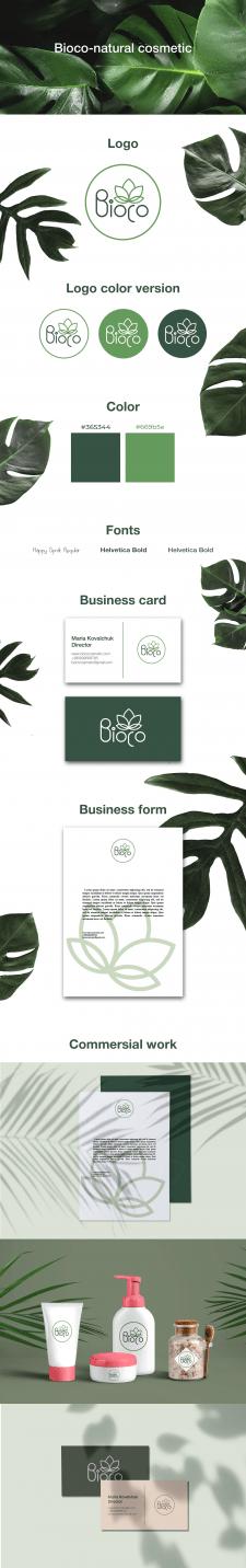 Разработка фирменного стиля и логотипа, визитки