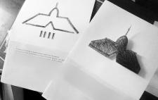 Разработка логотипа, эскизы