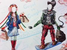 Декорация Вакула и Оксана