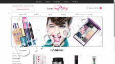"Сайт интернет магазина косметики ""LoveDary"""