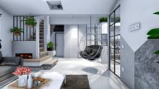 Дизайн-реконструкція  квартири  IT програміста