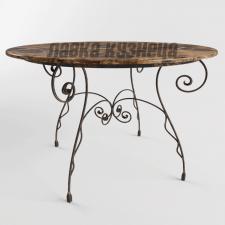 Кованый кофейный столик КСТ_1