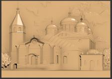 3д модель Троицкого собора