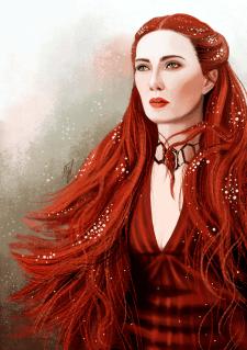 иллюстрация Мелисандра