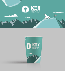 Paper cups for KEYclub