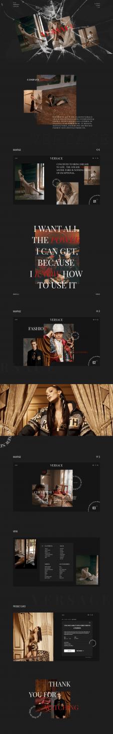 """Интернет-магазин """"Versace"""""""
