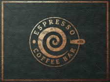 """Логотип Кофейни """"Эспрессо"""""""