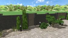 Парадна зона приватного саду