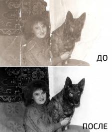 Реставрация старых и испорченных фотографий